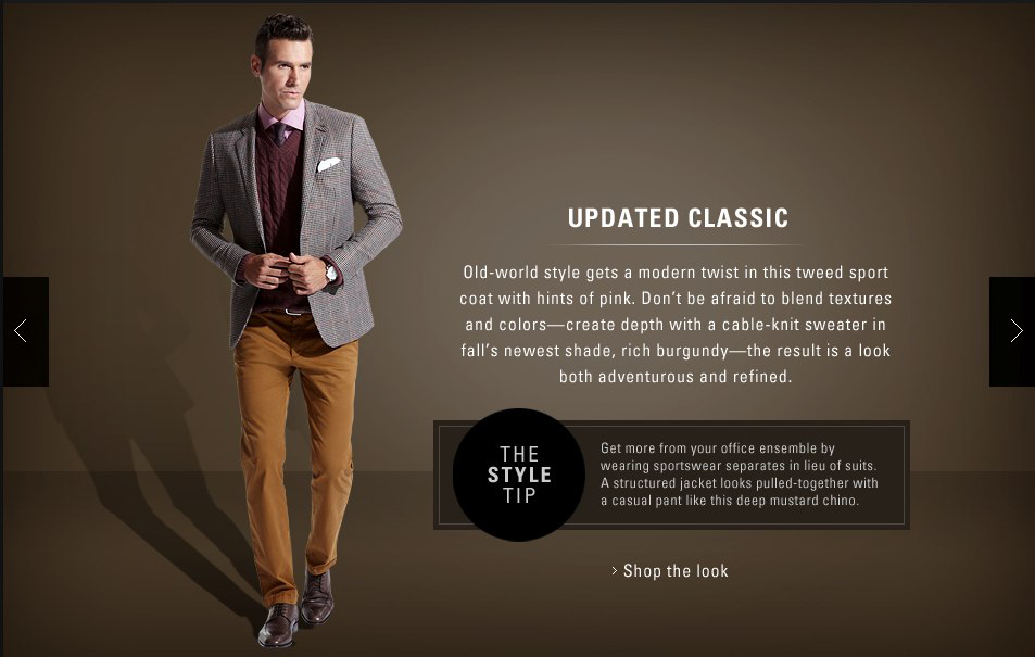 Hugo Boss Sport Coat Style Guide Copywriting Services