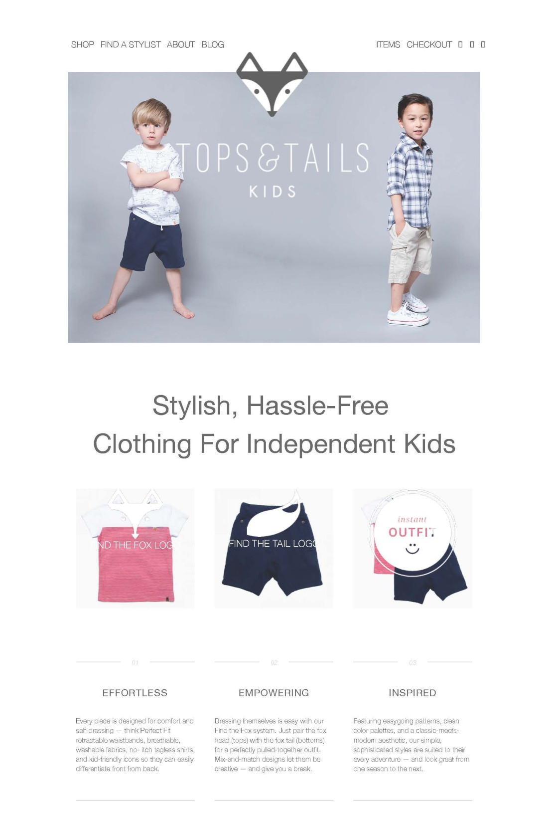 Tops & Tails Kids - Home-edited